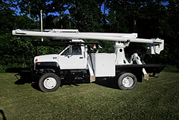 Bucket truck services provided